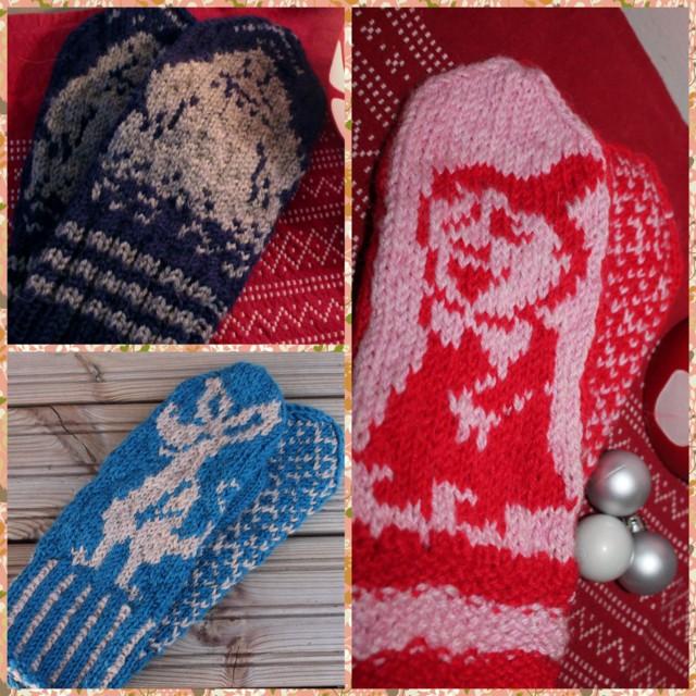 Moomin Knitting Pattern : muumi lapaset esisiainen toive hattivatti, mutta nipsu ja pikku myy kay myos ...