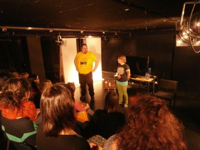 Markku ja Pia avasivat seminaarin