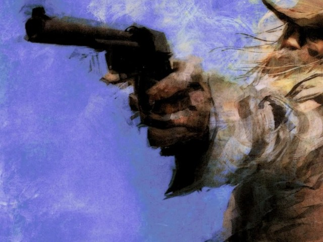 painting_old_west_gunman_cowboy_revolver