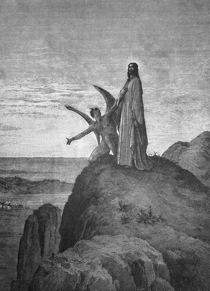 Gustave_Dore_Jeesusta_kiusataan_leiska.j