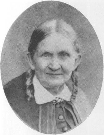 Fredrika Runeberg vuonna 1875 poikansa Fredrik Runebergin (1850–1884) kuvaamana