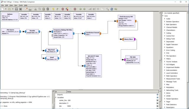 Decoding 2-FSK with GNU Radio - Teknisiä laitteita ja ohjelmointia