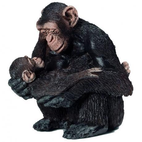 schleich-female-chimpanzee-with-baby-146