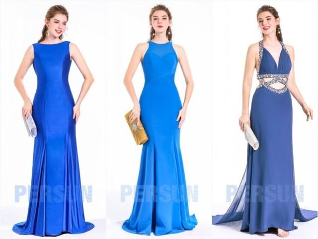 robes de soirée sirène longues élégantes
