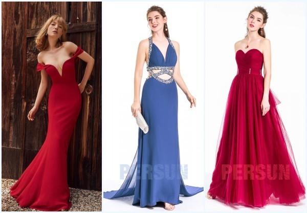 robes longues de soirée glamour