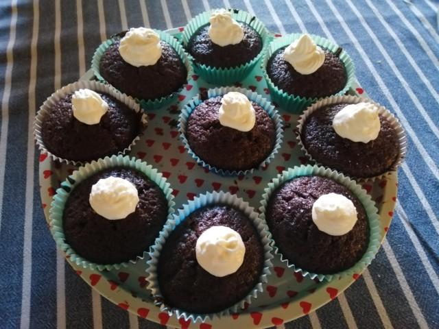 Maukkaat, suussasulavat suklaamuffinssit