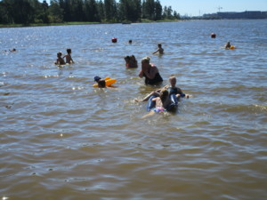 Kivinokan uimarannalla.JPG